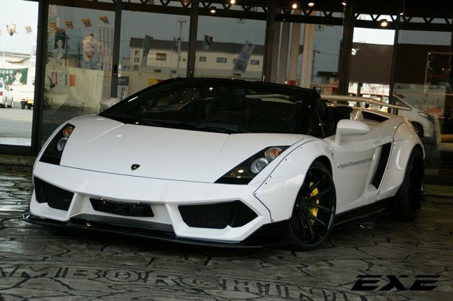 Lamborghini Gallardo Spyder by Liberty Walk and EXE